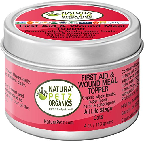 Natura-Petz-Organics-First-Aid-and-Wound-Meal-Topper-for-Cats