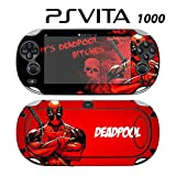 Decorative Video Game Skin Decal Cover Sticker for Sony PlayStation PS Vita (PCH-1000) - Deadpool