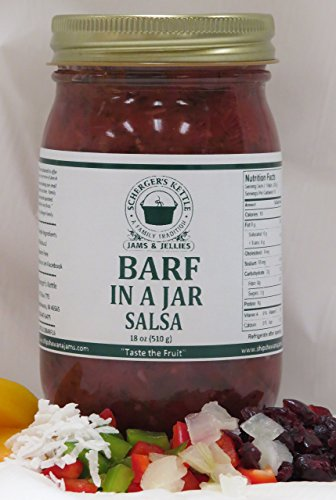 Barf in a Jar Salsa (Peach Cranberry Salsa), 18 -