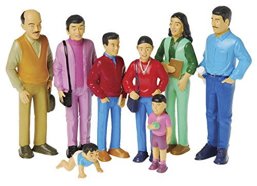 Marvel Education Pretend Play Hispanic Family, Toy Figures for Kids