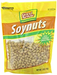 Good Sense Roasted & Salted Soynuts, 5-O...