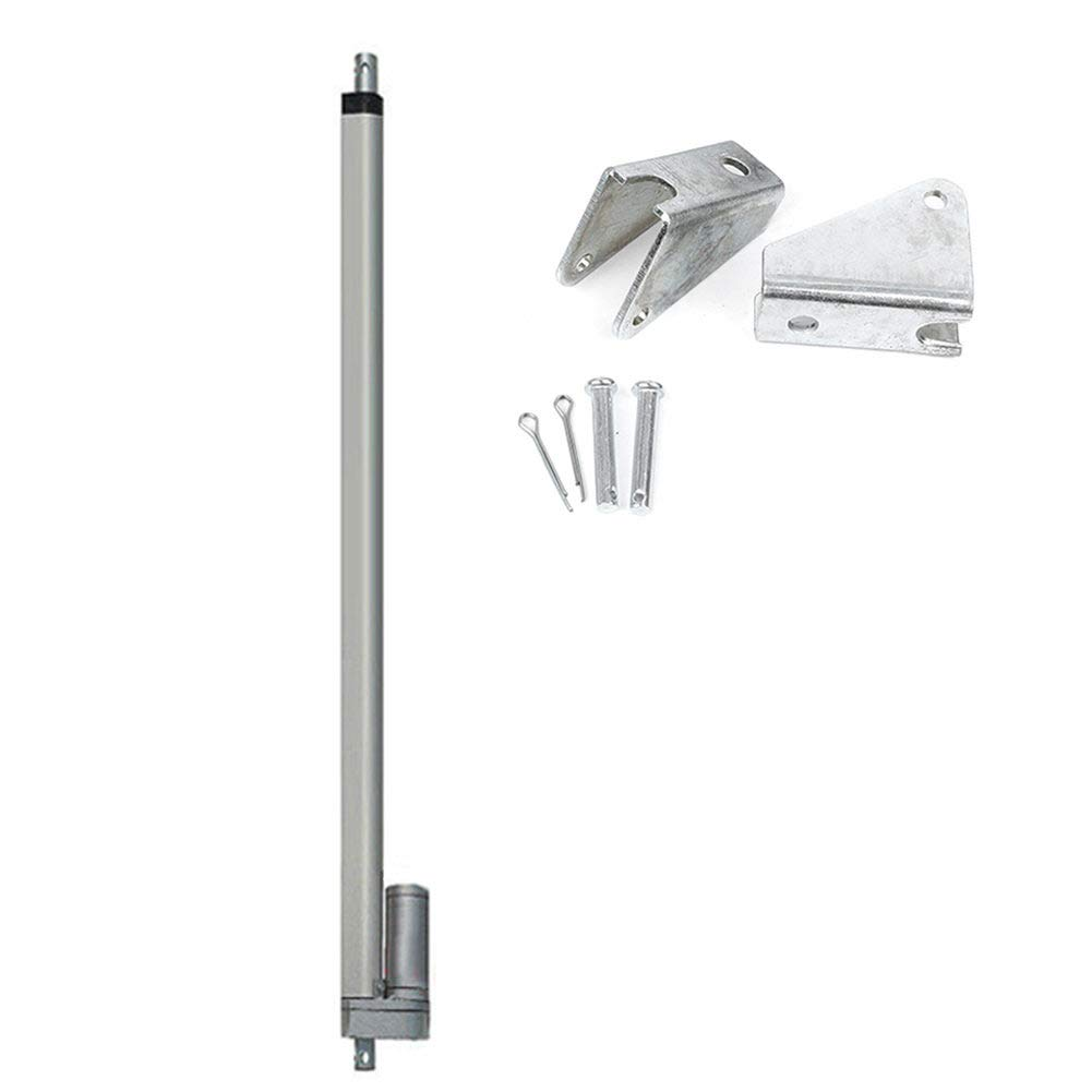 26 Stroke DC 12V Heavy Duty 1500N//330 lbs Maximum Lift with Mounting Brackets Electric Linear Actuator Newsmarts 26 inch Linear Actuator Motor