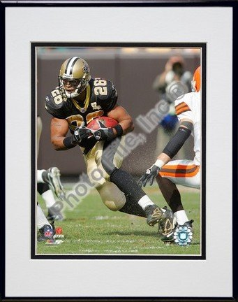 Deuce McAllister 2006/2007 Action Double Matted 8