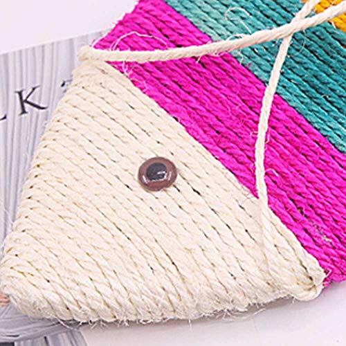 Dive Glove - Cat Favorite Toy Cute Fish Shape Sisal Hemp Scratch Board Scratching Post - Item Remote Geographic Variety Galaxy Control Girl Jingle Pink Electron Chaser Sellers Free Lazer