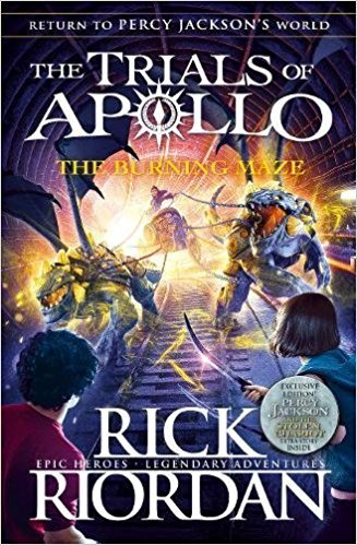 By Rick Riordan   The Burning Maze  The Trials Of Apollo   Paperback  2018  By Rick Riordan  Author   Paperback