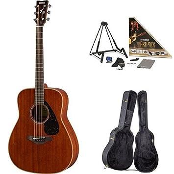 Amazon Com Yamaha Fg850 Acoustic Guitar Mahogany With Yamaha