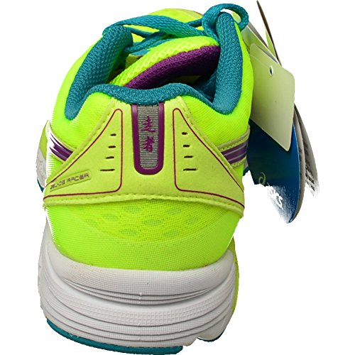 Jaune Purple Yellow Gel chaussures Women Racer running 9 DS Asics Flash Tile qOxPwz6