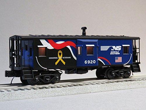 - MTH RAIL KING NORFOLK SOUTHERN VETERANS CABOOSE #6920 o gauge