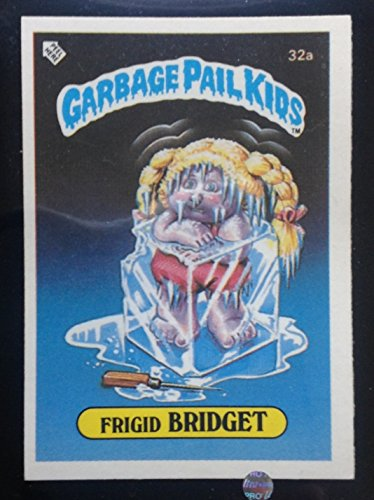 Frigid Bridget 32a Mini 1985 (Award Back) - Garbage Pail Kids
