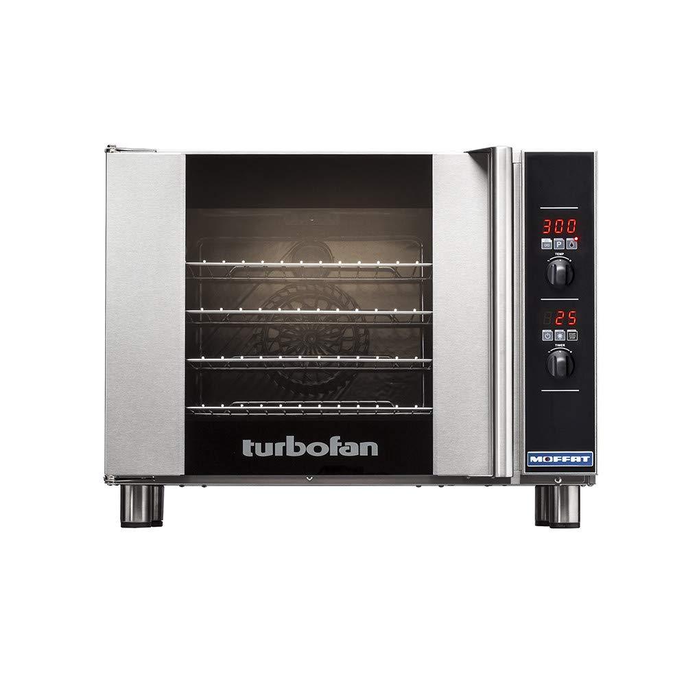 Turbofan Electric Convection Oven Half Size 4 Pan Digital