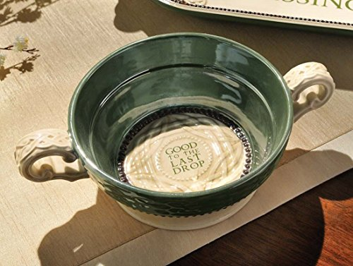 Grasslands Road 472751 Good to the Last Drop Ceramic Gift Boxed Quality Soup Bowl, 5