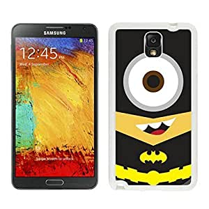 Personality customization DIY Case Batman Minion Samsung Galaxy Note 3 Case in White