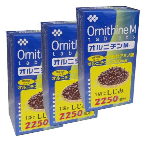 協和発酵オルニチンM (6粒×25袋)×3個セット B005DD8OMK