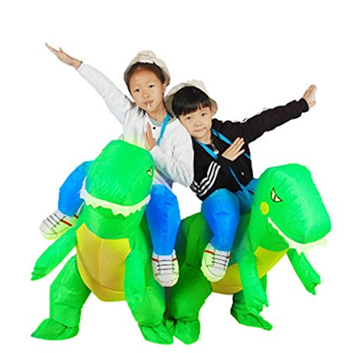 Halloween Inflatable Ride Dinosaur T-Rex Role Play Fancy Costume 3-6 Years]()