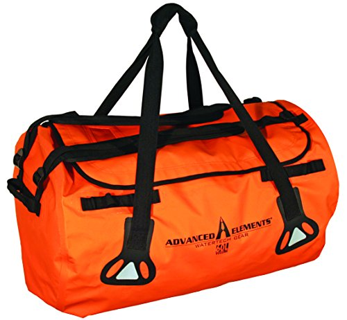 ADVANCED ELEMENTS Abyss All-Weather Duffel Bag, 60L Orange by ADVANCED ELEMENTS