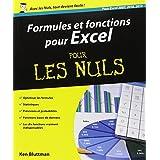 Formules et fonctions pour Excel pour les Nuls: Pour Excel 2007, 2010, 2013