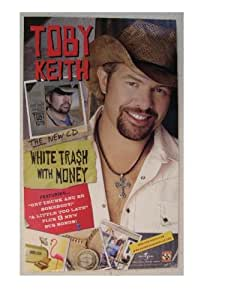 Amazon.com: Toby Keith Poster Handsome Face White Trash ...