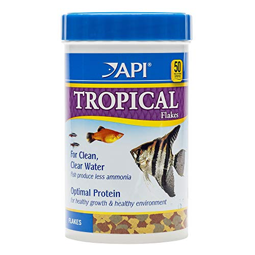 - API TROPICAL FLAKES Fish Food 5.7-Ounce Container