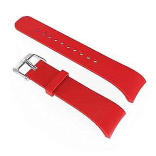 bzline® Lusso Silicone braccialetto di remplacemen con chiusura di fibbia ago per Samsung Gear Fit 2sm-r360, Rosa BZLine® BZL-01