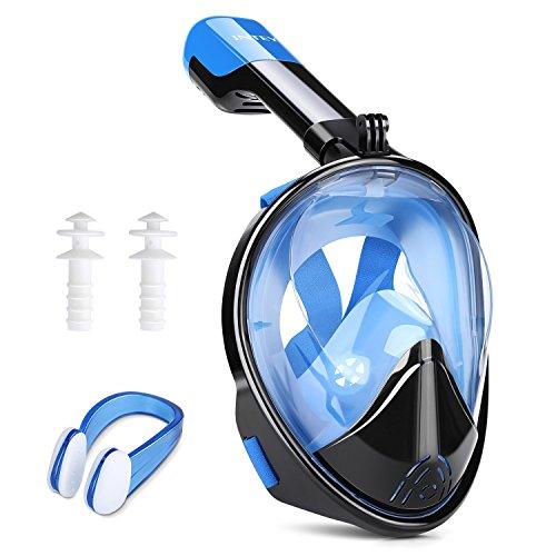 INTEY Snorkel Mask 180 View Panoramic Fu...