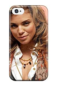 For Iphone 4/4s Tpu Phone Case Cover(annalynne Mccord )