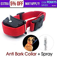 EVSTAAnti Bark Spray Collar Automatic Humane Citronella Stop Dog Training No Barking
