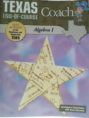 Texas STAAR Coach End-Of-Course Algebra I