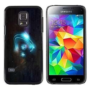 Caucho caso de Shell duro de la cubierta de accesorios de protección BY RAYDREAMMM - Samsung Galaxy S5 Mini, SM-G800, NOT S5 REGULAR! - C++