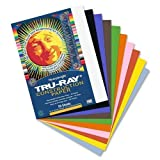 Tru-Ray Sulphite Construction Paper, 9 x 12 Inches, 50 Sheets (103031)