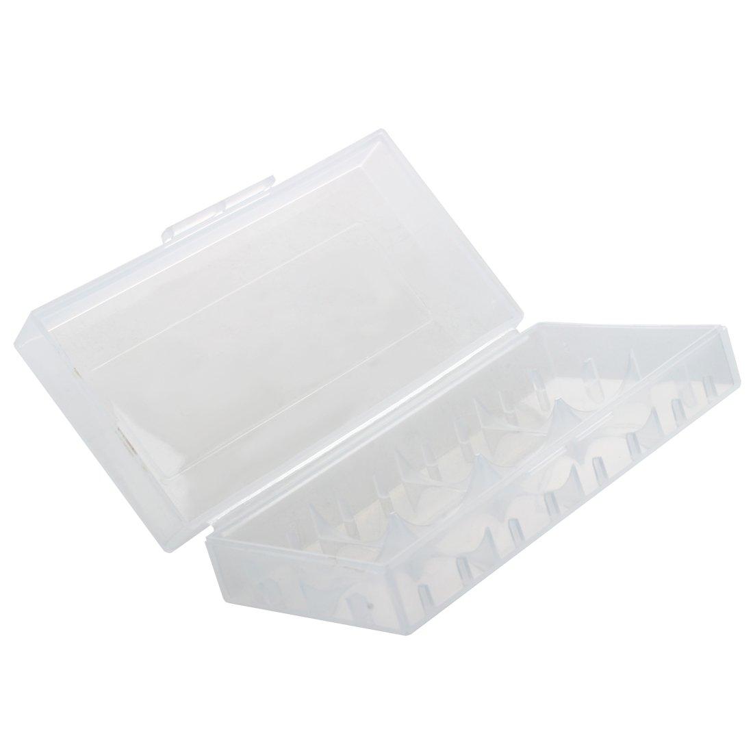 SODIAL(R) Caja para Pila Bateria 18650 Portapila Portabateria Transparente: Amazon.es: Electrónica