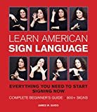 img - for Learn American Sign Language book / textbook / text book