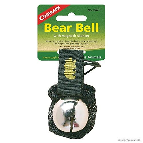 Bear Bell w/ Silencer 2 Pack (Bear Deterrent)