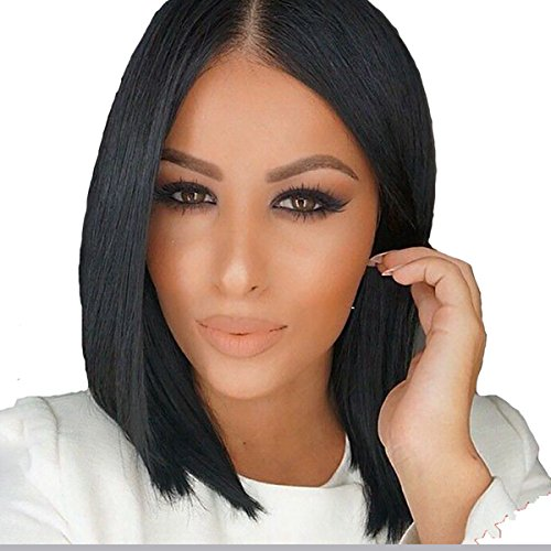 WTB Hair Short Bob Black Wig Women Natural Synthetic Wigs For Black Women Heat Resistant Synthetic Bob Hair