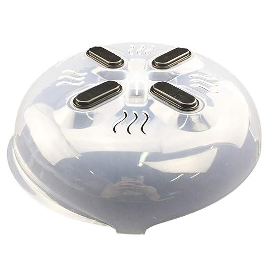 Tapa magnética para microondas y microondas, sin BPA: Amazon ...