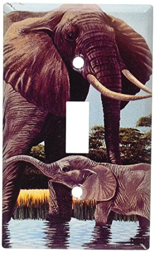 Art Plates - Elephants Switch Plate - Single Toggle
