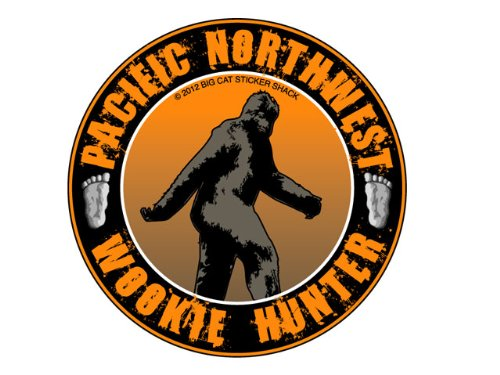 Pacific Northwest Wookie Hunter (Bumper Sticker)