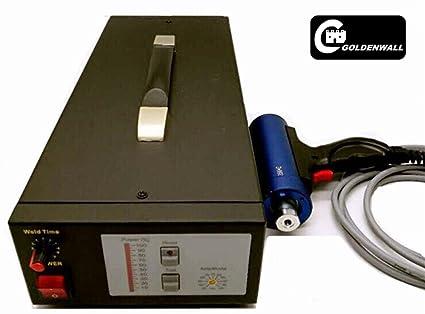 CGOLDENWALL DEX-3510X - Generador ultrasónico de 1000 W para soldador de puntos con transductor