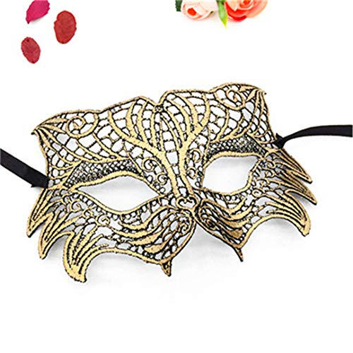 PATY&COSMSK 1 Pcs Animal Masks Birthday Party Wedding Mask Eco-Friendly Lace Decotation Unisex Accessories 1