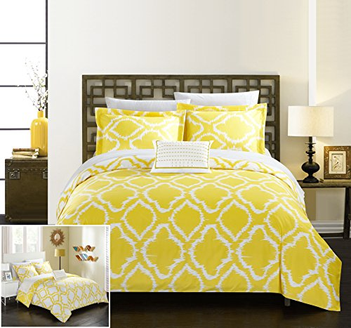 quilt set queen yellow - 4