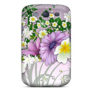 For SilenceBeauty Galaxy Protective Case, High Quality For Galaxy S3 Simplicity Of Beauty Skin Case Cover