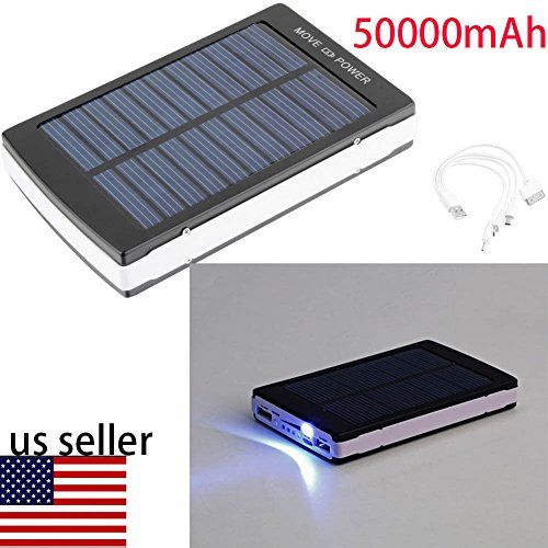 50000mAh Portable Solar Battery Charger product image