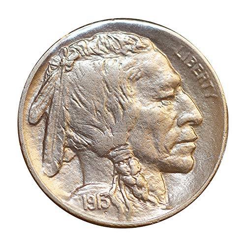 1913 S Buffalo Nickel Type 2 - Gem BU/MS/UNC - High Grade Coin/Superb