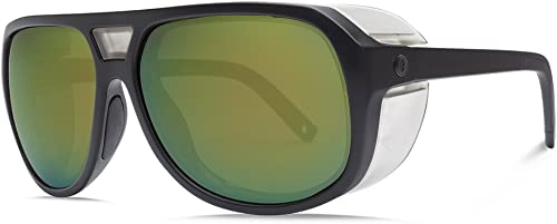 Electric Visual Stacker Matte Black OHM Polarized Bronze Green Sunglasse