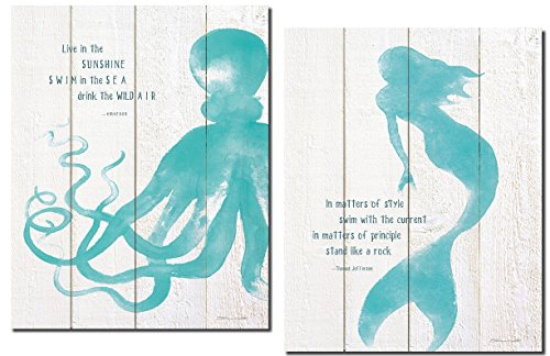 Beautiful Popular Inspirational Mermaid Octopus