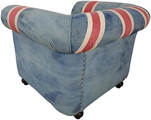 Fauteuil club Chesterfield Fauteuil vintage Union Jack UK Fauteuil design
