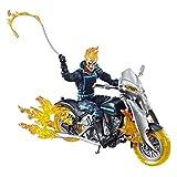 Marvel Figura de Acción Ghost Rider con Motocicleta Legends