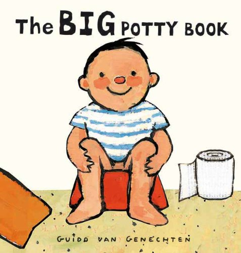 The Big Potty Book book cover