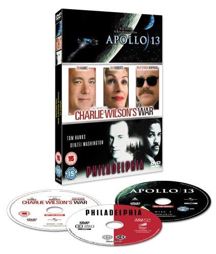 Triple Feature (Apollo 13 / Charlie Wilson's War / Philadelphia)