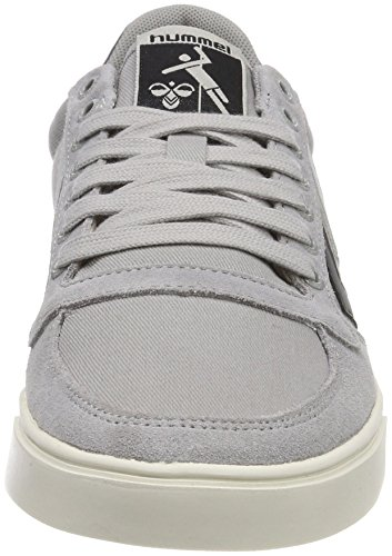 Alloy Grau Adulte Canvas Mixte Duo Slimmer Baskets Hummel Stadil Low qf8nwzF