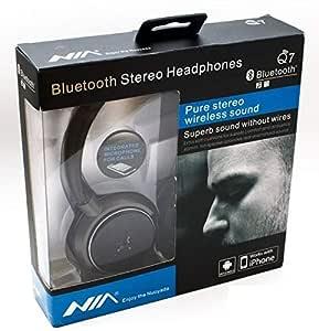 Wireless Bluetooth V3.0 stereo Headset Headphone FM MP3 iPhone iPad Smartphone PC
